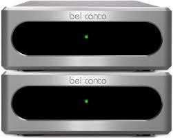 Bel Canto Design Ref500m Bel Canto E One Ref500m Monoblock Amplifier Pair Demo
