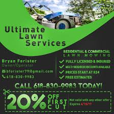Lawn Mowing Ads Entry 2 By Meceering For Design An Advertisement For Lawn