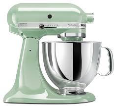 Pink Kitchen Aid Mixer Kitchenaid Ksm150pspt Artisan Series 5 Quart Mixer Pistachio