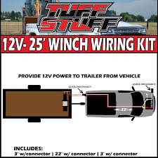 25′ ft winch 2 gauge permanent wiring kit for front rear tuff 25′ ft winch 2 gauge permanent wiring kit for front rear tuff stuff® 4x4 winches off road lighting overland and accessories