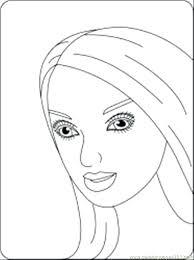 Barbie Color Pages Campoamorgolfinfo