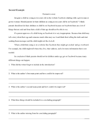 Persuasive Essay Examples Preview