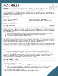 Pharmacist Resume Example Ideal Pharmacist Resume Sample Free