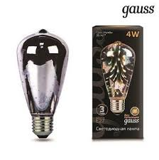 <b>147802404 Лампа Gauss</b> LED <b>3D</b>-<b>Butterfly</b> E27 4W