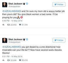 Azealia Banks Racist Zayn Malik Skai Jackson - PAPER