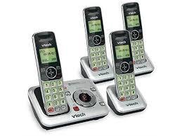 3 handset dect 6 0 cordless phone
