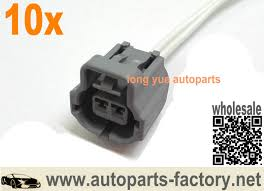 popular ford pigtail connectors buy cheap ford pigtail connectors long yue 10pcs ignition knock sensor connector pigtail case for ford 12