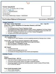 Over 10000 Cv And Resume Samples With Free Download One Page