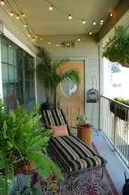 balcony lighting decorating ideas. Small Apartment Balcony Garden Ideas Lighting Decorating