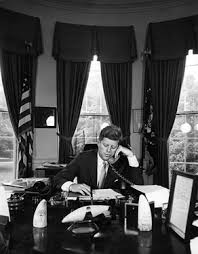 jfk oval office. President Kennedy Addresses AMVETS By Telephone From The Oval Office, 23 August 1962 Jfk Office A