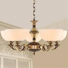 5 light uplight glass shade antique brass chandeliers 5 light brass chandelier