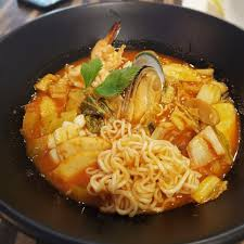 Kimchi Seafood Soup with Maggi ...