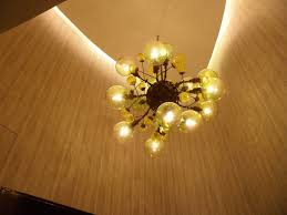 blown glass chandelier by famous artists