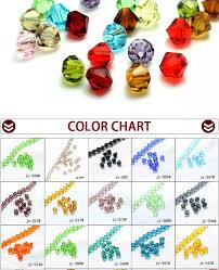 Bicone Bead Size Chart 3mm Beaded Crystals Glass Bicone Beads Necklace For Jewelry Making Buy Clear Crystal Beads Decorative Crystal Beads Colored Crystal Beads Product On
