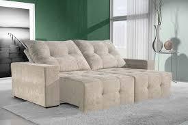 sofa retratil. sof monza retrtil e reclinvel sofa retratil t