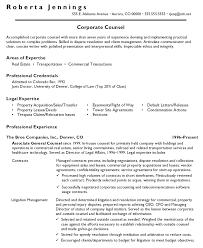 associate general counsel resume associate general counsel senior attorney resume