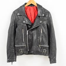 ron jean double riders jacket men m wak5208 with the fringe