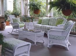 Outdoor White Wicker Patio Furniture Modrox