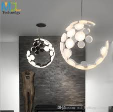modern living room dining room 2x36w led chandelier nordic fashion bar table lamp personality art creative led pendant chandelier light pendant fixture
