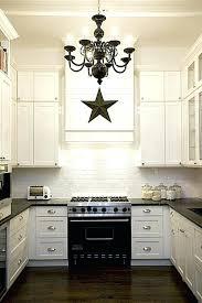 kitchen crystal chandelier