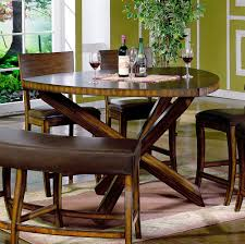 pub style dining room sets. Furniture: Pub Style Dining Room Sets With Dark Brown 8 Chairs Light 9 From
