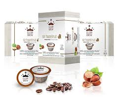 At first glance, it looks pretty good. Glorybrew Sir Hazelnut 60 Count Compostable Coffee Pods Qvc Com
