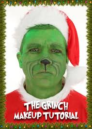 how to do the grinch makeup