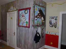 Kids Bedroom Design Boys Kids Bedroom Country Cowboy Style Cute Wall Painting Boy Themed