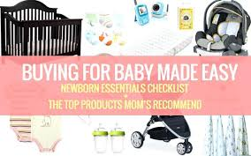 Baby Registry Checklist First Shower Target – Onbo Tenan