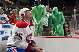 The green men, known as force (adam forsyth) and sully (ryan sullivan), are supporters of the vancouver canucks of the national hockey league (nhl). The Green Men Seats Page 2 Canucks Talk Canucks Community