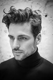messy mens short haircuts for curly hair