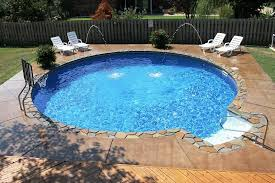 Small Pool Designs For Small Backyards Enchanting Beautiful Small Round Inground Swimming Pool Designs With Basketball