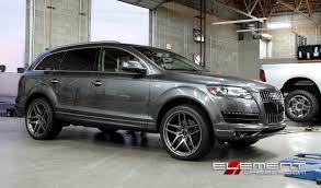 audi a7 2014 custom. 22x105 black di forza bm7 titanium on 2014 audi q7 w specs a7 custom a