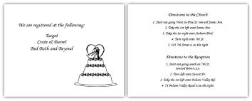 wedding direction card wording simple wedding invites Wedding Invitation Direction Inserts sample information and direction card wedding wedding invitation direction inserts template