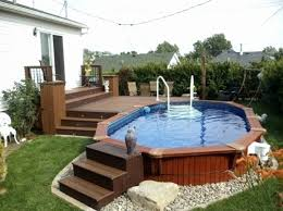 above ground pool with deck attached to house. Above Ground Pool Deck Plans Attached To House Awesome Round Decks Beautiful With R