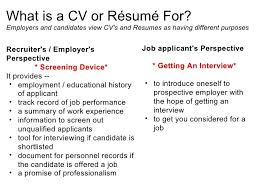 Resume Cv Meaning Stunning 28 Detail Resume Cv Meaning Vo U28 Resume Samples