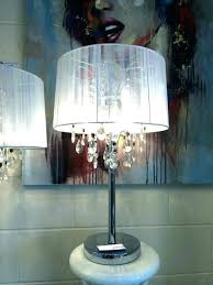 crystal chandelier table lamp crystal drop chandelier table lamp crystal chandelier table lamp shades full image