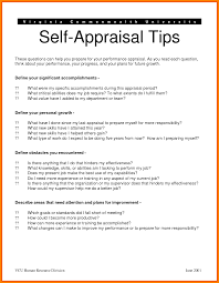 Self Appraisal Example 24 selfappraisal examples appeal leter 1