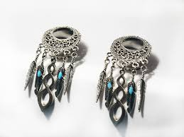 Dream Catcher Tunnels silver dreamcatcher tunnel 100 Wishlist Pinterest 9