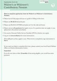 State Pension (Non-Contributory) Application Form - Welfare.ie