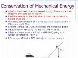 45 using principle of conservation of mechanical energy falling objects and roller coaster rides are situations where e p e k constant if we ignore the