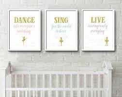 Toddler Bedroom Decor, Baby Girl Nursery, Kids Quote Prints, New Baby Gift,