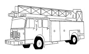 Printable Fire Truck Coloring Pages Coloring Page Book For Kids