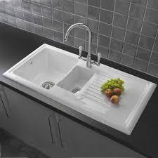 Elkay Quartz Classic DropIn Composite 25 In Single Bowl Kitchen White Single Bowl Drop In Kitchen Sink