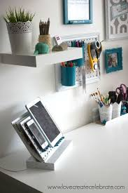 organize home office desk. 15 ways to organize every messy nook with pegboard organizing woodworking projects or hide cords under your office desk home