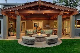 Garage Patio Designs Stand Alone Covered Patio Designs Home Outdoor Decoration