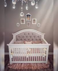 girl baby furniture. girl nursery gorgeous one of a kind custom tufted convertible crib with rhinestones glam baby furniture l