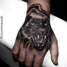 Black Panther Hand Tattoo Tattoos The Raimondis General