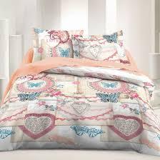 vintage love 100 cotton bed linen set duvet cover pillow cases soulbedroom home textile quality bedding duvet covers pillow cases
