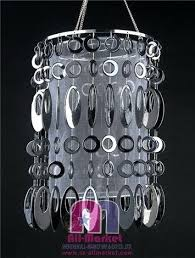 voile plastic chandeliers view more modern and contemporary beaded crystal at chandelier crystals how to clean
